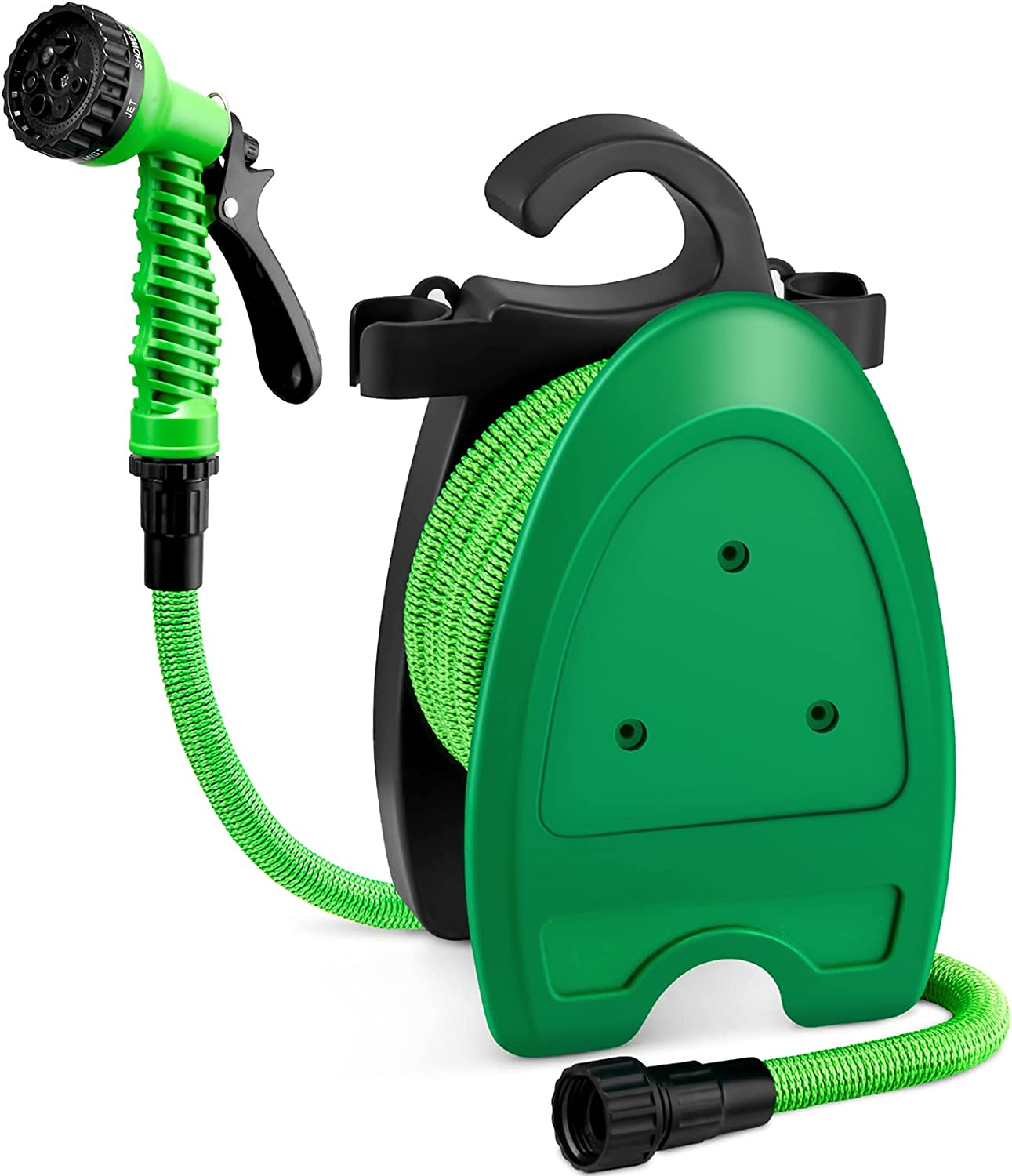 Gesentur Expandable Garden Hose, 50FT Lightweight Water Hose with 7 Function Spray Nozzle & 3/4