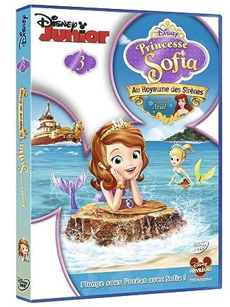 Princesse Sofia 3 Au Royaume Des Sirenes Dvd Blu Ray Amazon Fr