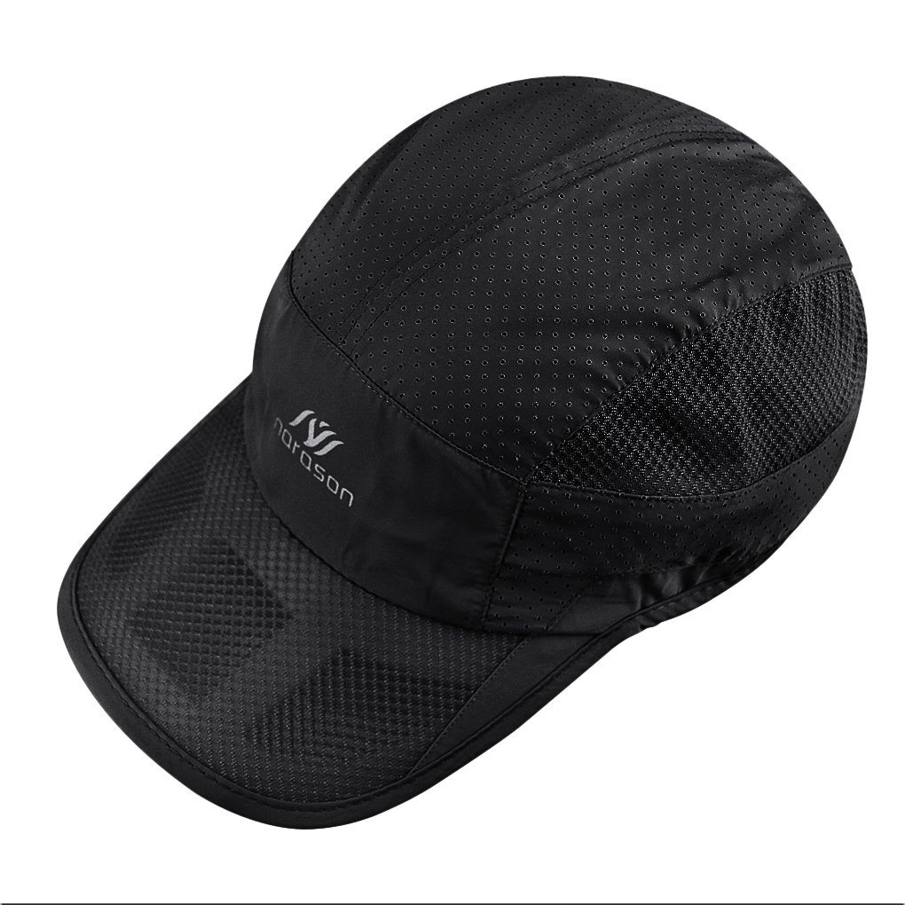 b1aa62ff5d07c Amazon.com : Unisex Summer Mesh Baseball Cap Outdoor Sport Breathable Mesh Golf  Tennis Beach Hat Summer Cool Ventilation Quick Dry Sun Protection Hat ...