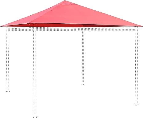 Alice s Garden – lienzo de tejado rojo para carpa 3 x 3 m ...