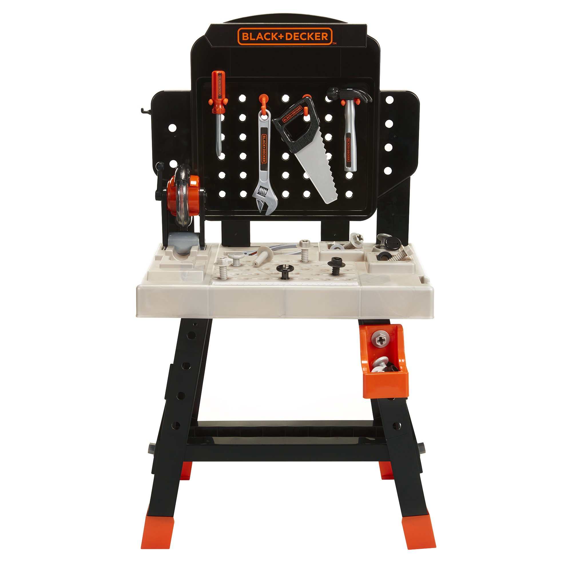 BLACK+DECKER 71382 Jr. Mega Power N' Play Workbench with Realistic Sounds! - 52 Tools & Accessories by BLACK+DECKER (Image #3)