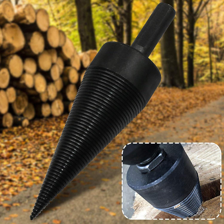 accessori per casa per trapano a cono campeggio Punta da trapano per legna da ardere 38 mm Sourcingmap fattorie
