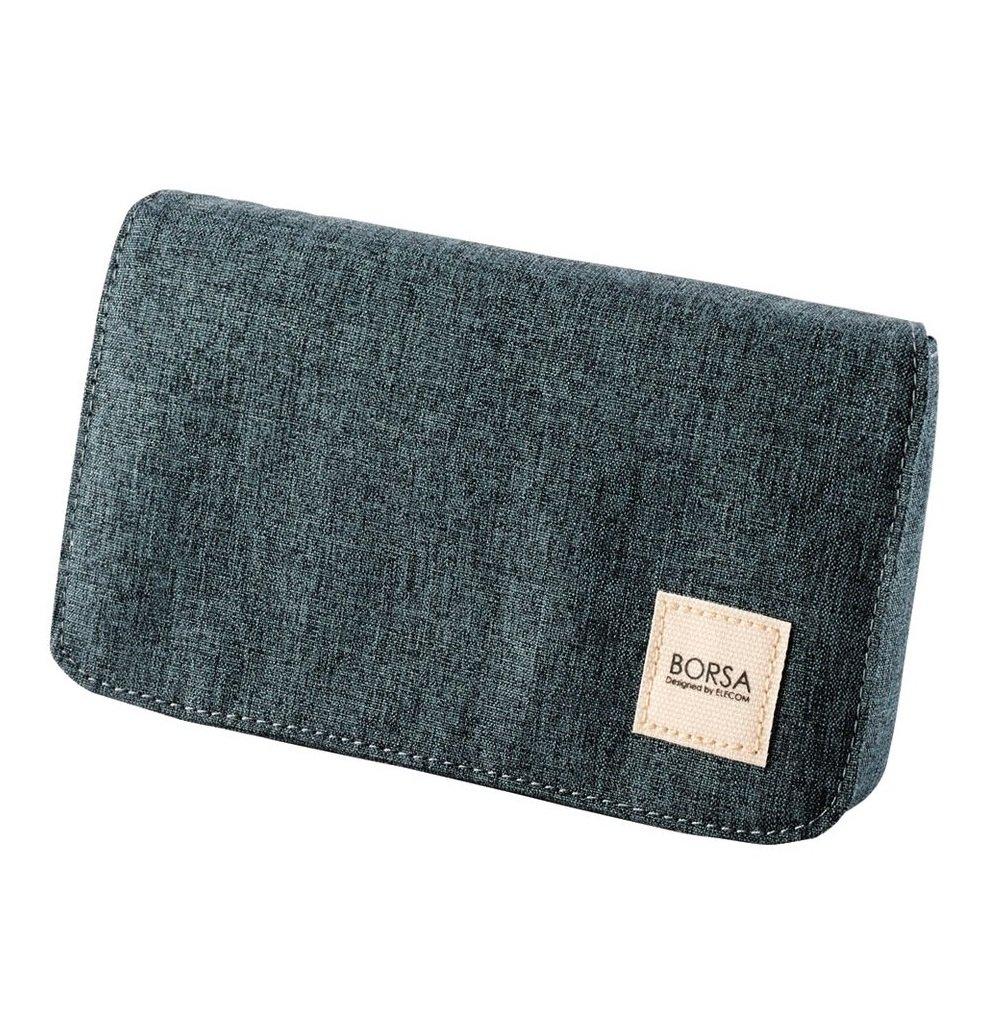 ELECOM Bag in Bag Gadget Pourch Size M Black BMA-GP05BK
