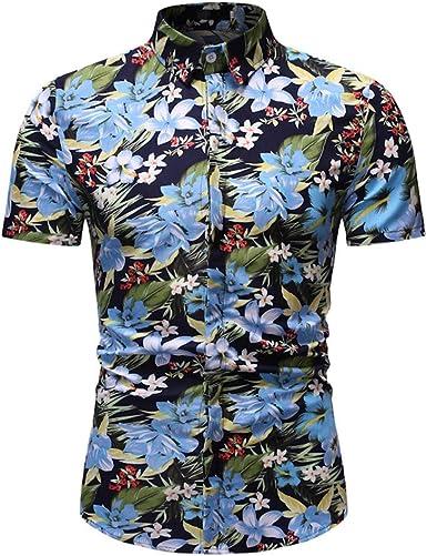Cocoty-store 2019 Camisa de Playa para Hombre Casual 3D Funky Manga Corta Hawaii Summer Camisetas Tops Blusa M-XXL, M/L/XL/2XL/3XL: Amazon.es: Ropa y accesorios