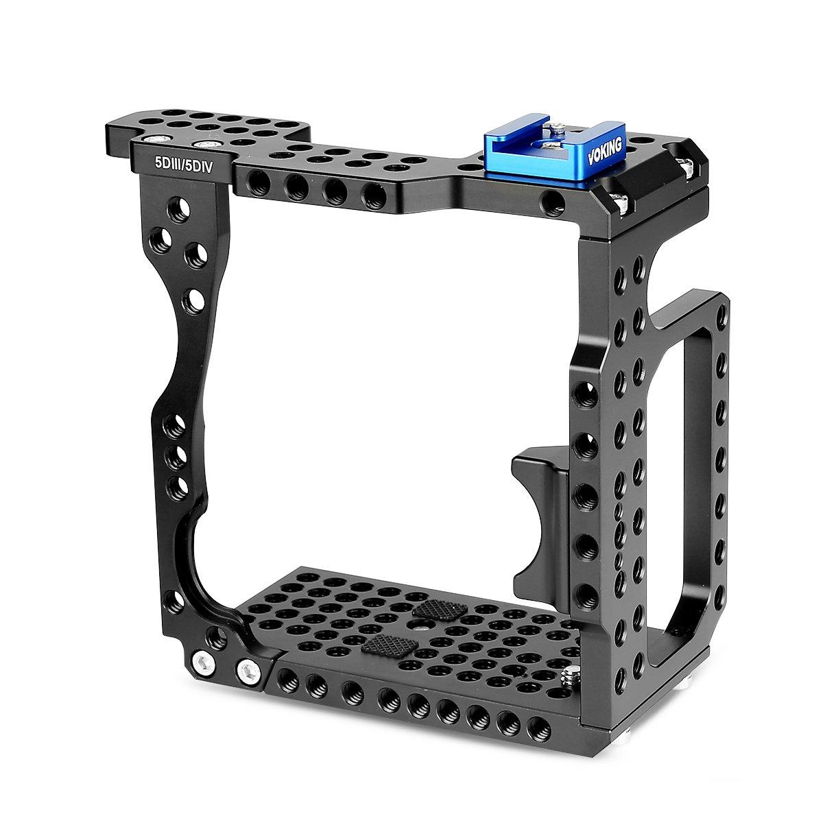 Voking vk-5d4 C cámara estabilizador de vídeo jaula para Canon 5d ...