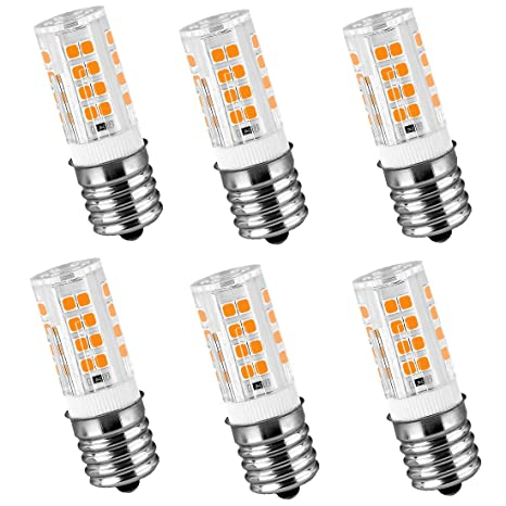 Amazon.com: LeMeng 120 V E17 Bombilla LED 4 W 400 lm blanco ...