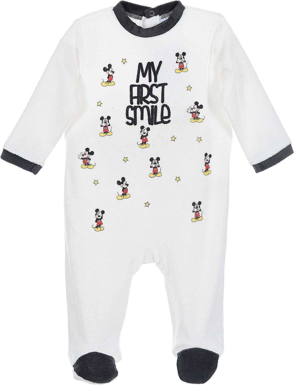 Mickey Mouse beb/é-ni/ños Pijama Largo