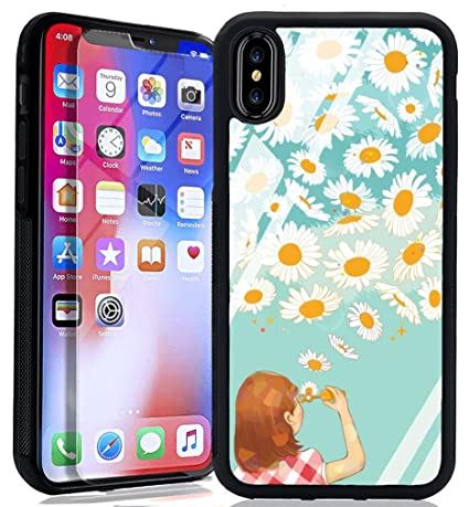 Amazon.com: Tortoise Shell iPhone Xs iPhone X Funda, TPU ...