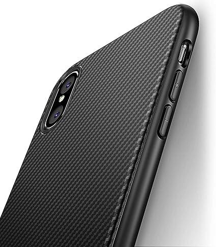 custodia originale Audi Carbon Fiber per Apple iPhone XR nero cover case