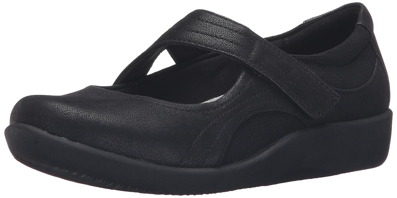 abedc881858 Amazon.com | CLARKS Women's Sillian Bella Mary Jane Flat | Flats
