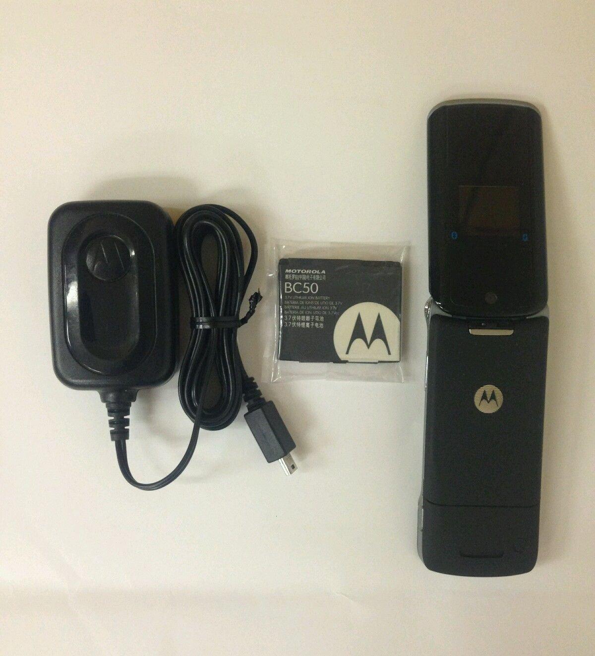 Amazon.com: Motorola KRZR K1m Black Sprint Cell Phone: Cell Phones &  Accessories