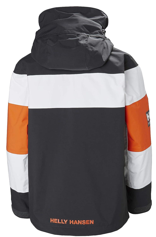 Helly Hansen Childrens Salt Port Windproof Breathable Hooded Sailing Waterproof Jacket