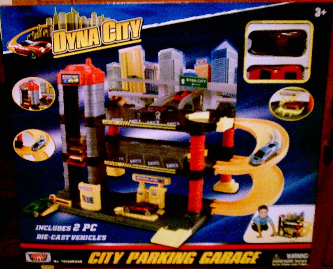 Dyna City City Parking Garage by Motor Max