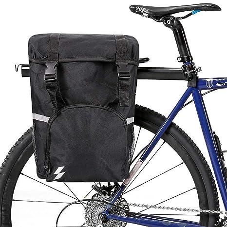 WUZHENG Bolsa De Maletero para Bicicletas - Paquete De Alforjas ...