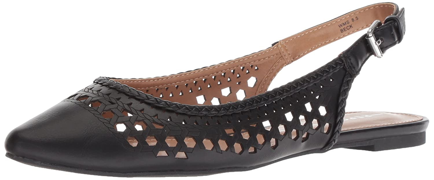 Report Women's Beck Ballet Flat B077448PS8 6.5 B(M) US|Black