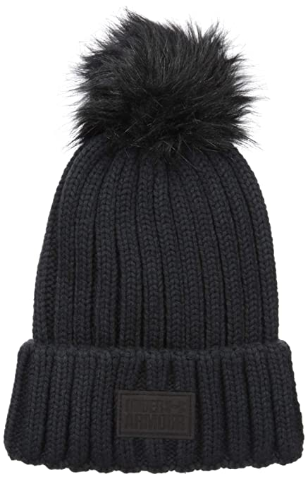 6c7990e4fbd Amazon.com  Under Armour Women s Armour snowcrest pom beanie  Sports ...