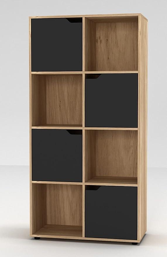 Estantería de URBNLIVING, de madera, con forma cúbica, con ...