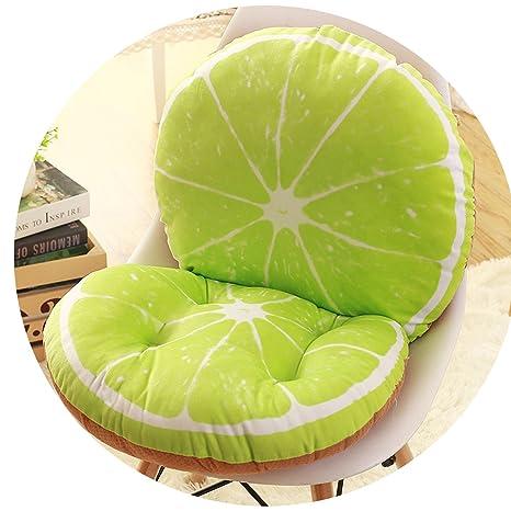 Amazon.com: Fruit - Cojín para silla de oficina, decoración ...