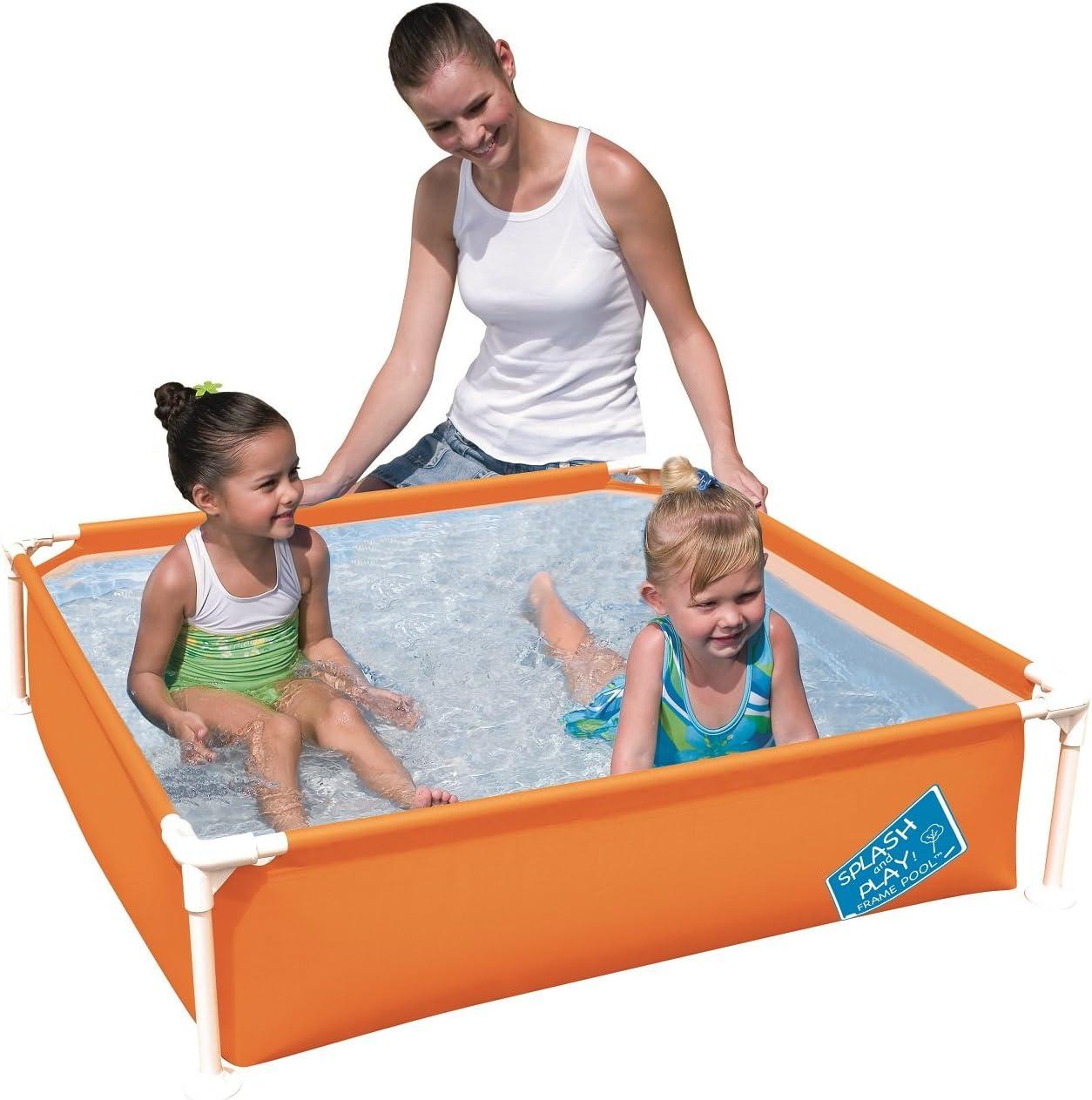 H2OGO My First Frame Pool 48 x 12 Orange