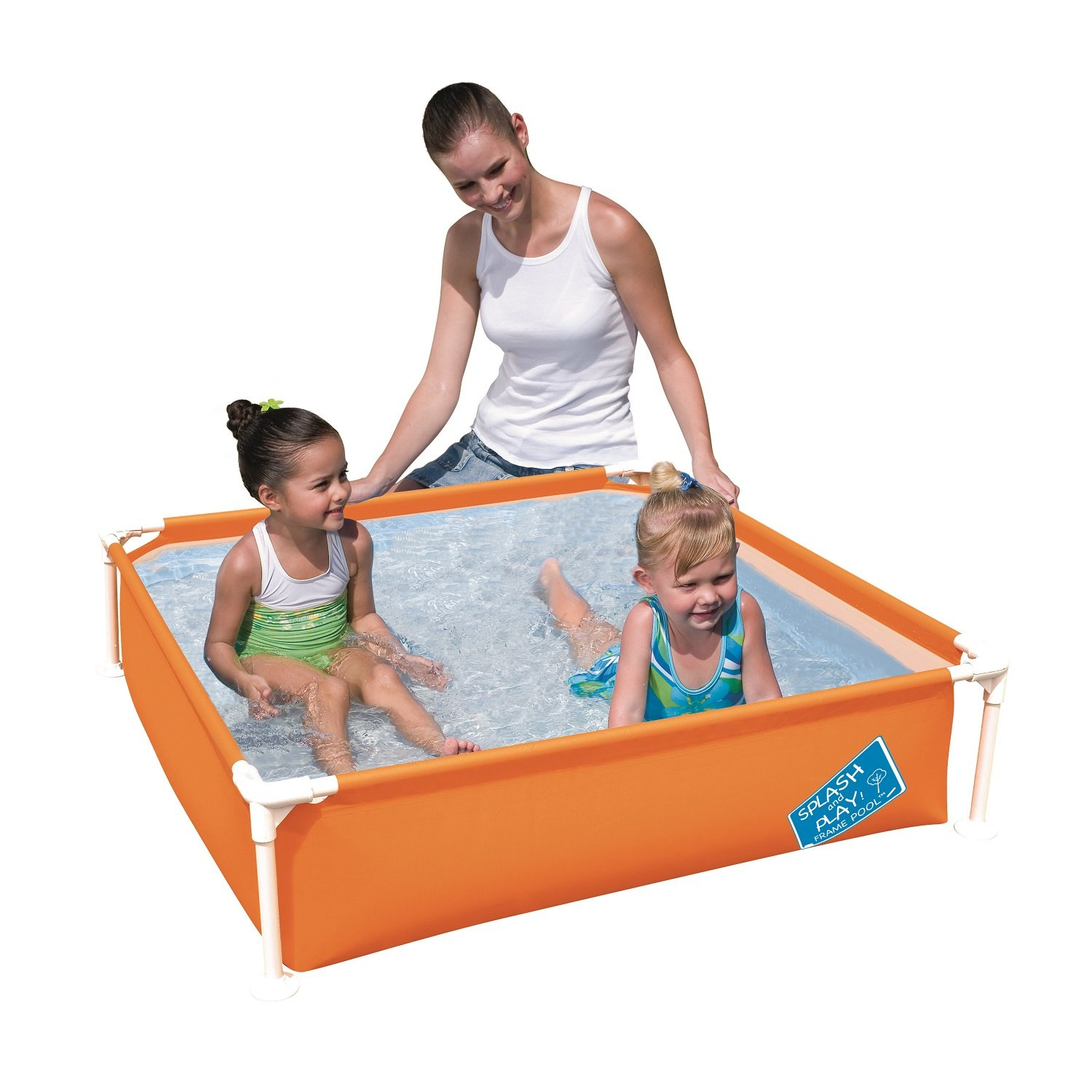 Bestway H2OGO! My First Frame Pool 48'' x 12'' Orange