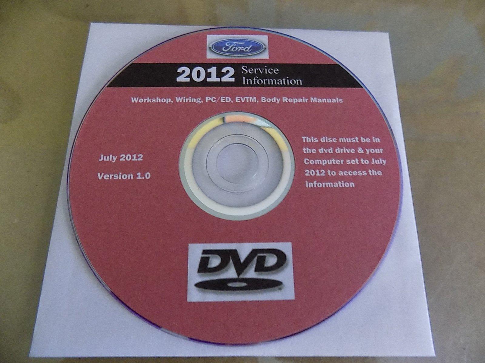 2012 Ford TRUCK F-250 F350 F250 450 550 Service Shop Repair Manual ON CD NEW pdf epub