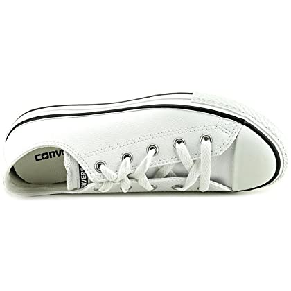 4b9be3a1cf1c ... CONVERSE KIDS (K)ALL STAR LOW LEATHER - White - 13 ...