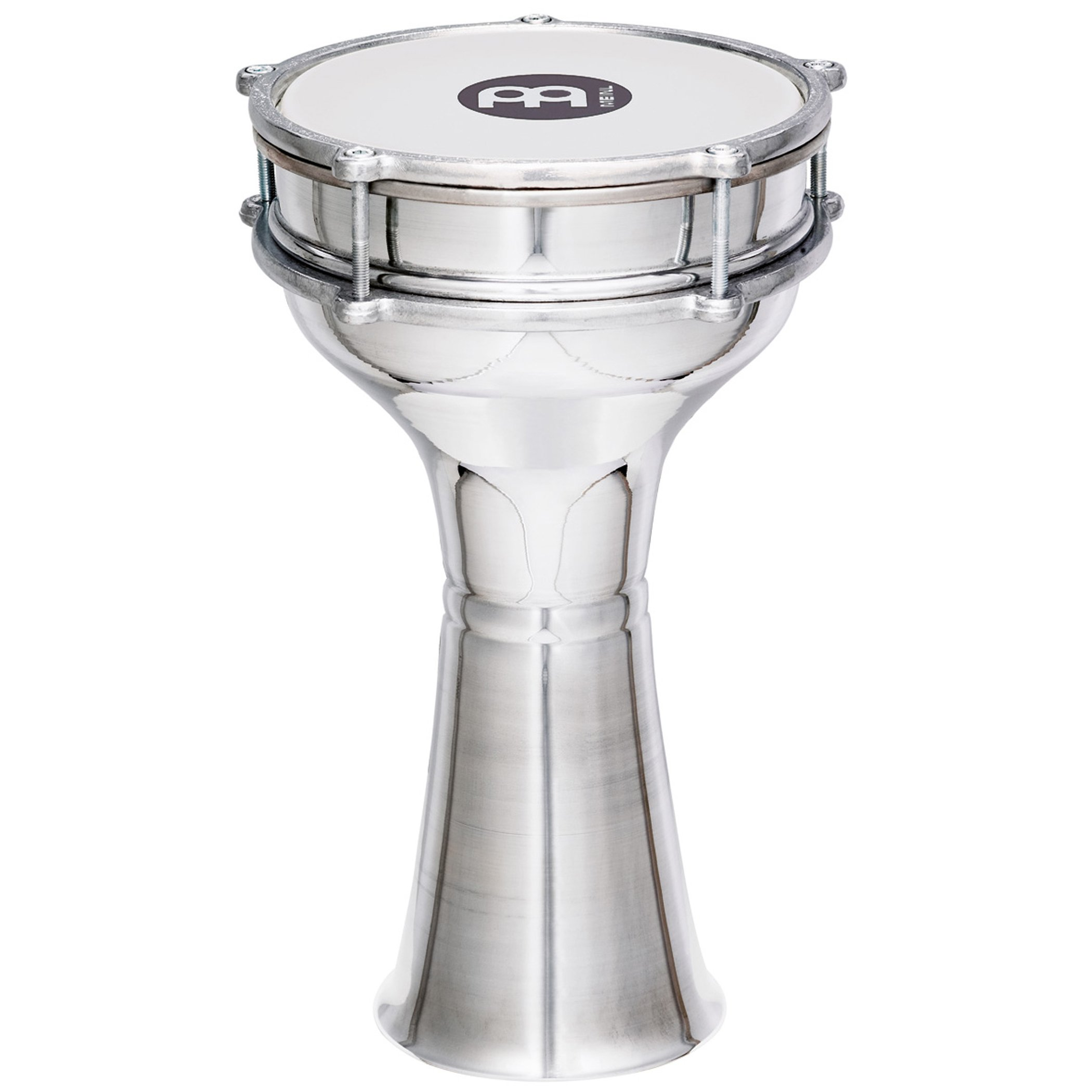 Meinl Percussion Mini Darbuka with Aluminum Body - MADE IN TURKEY - 7 1/4'' Tunable Synthetic Head, 2-YEAR WARRANTY (HE-103) by Meinl Percussion