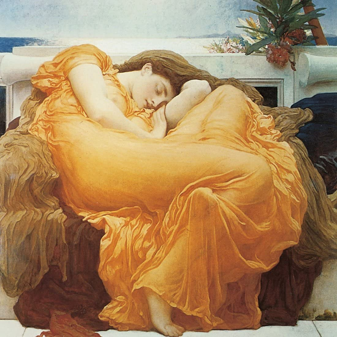 Flaming Dallas Mall June Frederic Leighton sale - ART PRINT WALL CANVAS OR