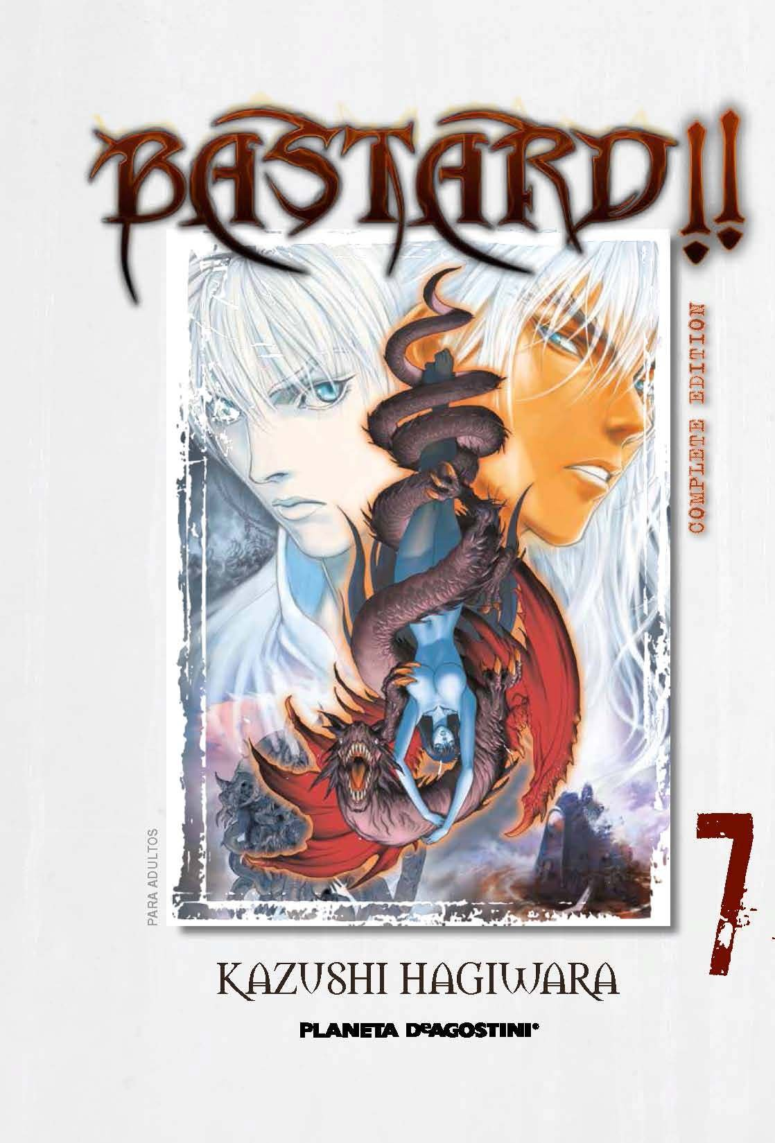 Bastard! Complete Edition nº 07: Amazon.es: Kazushi Hagiwara ...