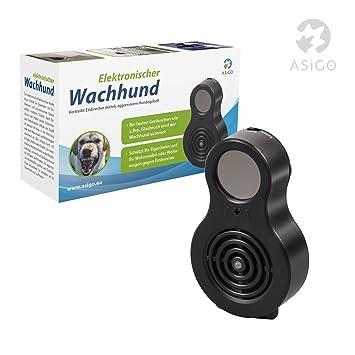 Elektronischer Einbruchschutz asigo elektronischer wachhund mit hundegebell und