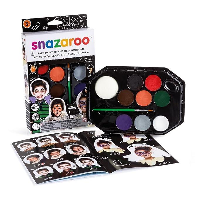 Snazaroo Kit de Pintura Facial, Multicolor: Amazon.es ...