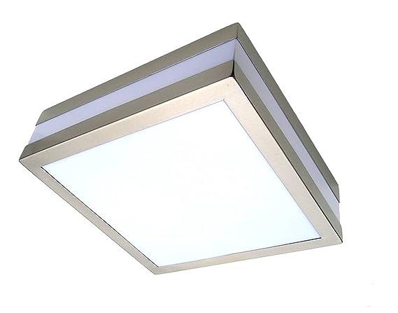 Plafoniere Con Lampade A Risparmio Energetico : V montaggio a parete soffitto lampada tama eckig ip per