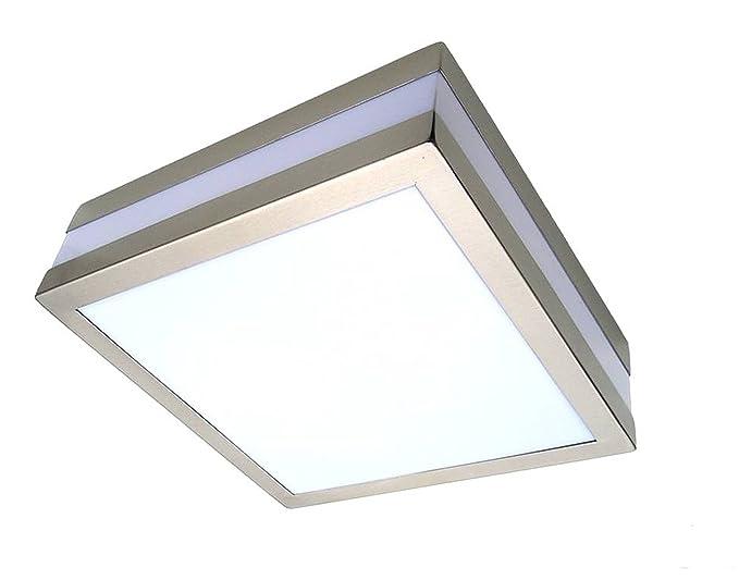 Plafoniere Rettangolari Da Parete : V montaggio a parete soffitto lampada tama eckig ip per
