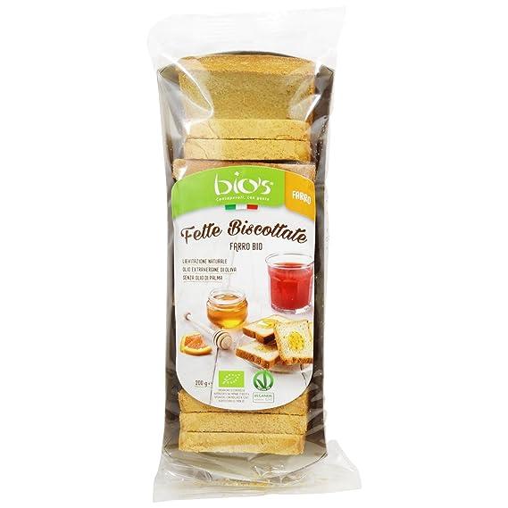 Delizioso Shop - Biscotes de Espelta con Aceite de Oliva Extra Virgen Ecológico - Levadura Natural