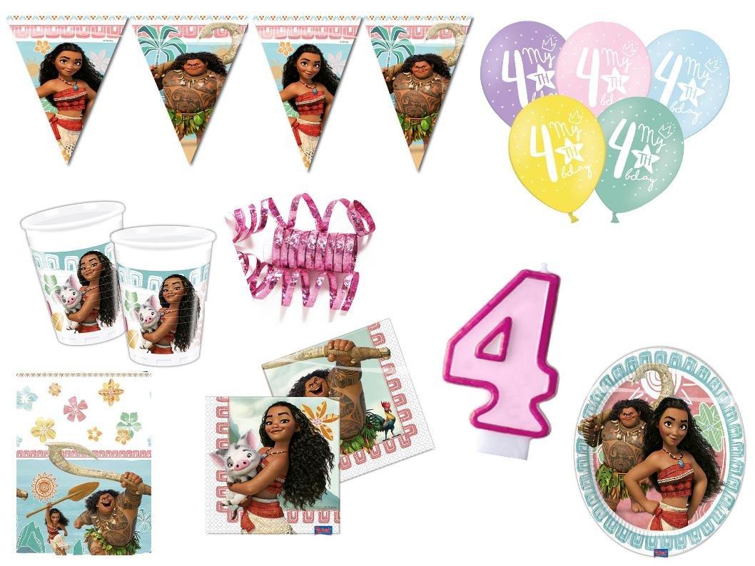 Partydeko Stefino XXL para Fiestas Cumpleaños Vaiana 4 ...
