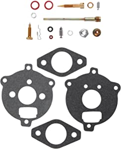 Mtsooning Carb Repair Kit Fit Briggs Stratton 394693 291763 295938 195432 195435 195436