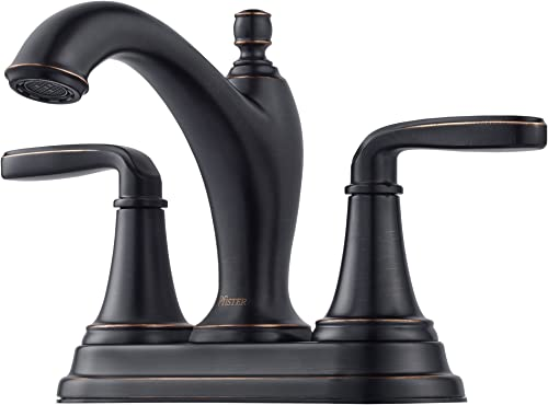 Pfister Northcott LG48-MG0Y 4 Centerset Bathroom Faucet in Tuscan Bronze