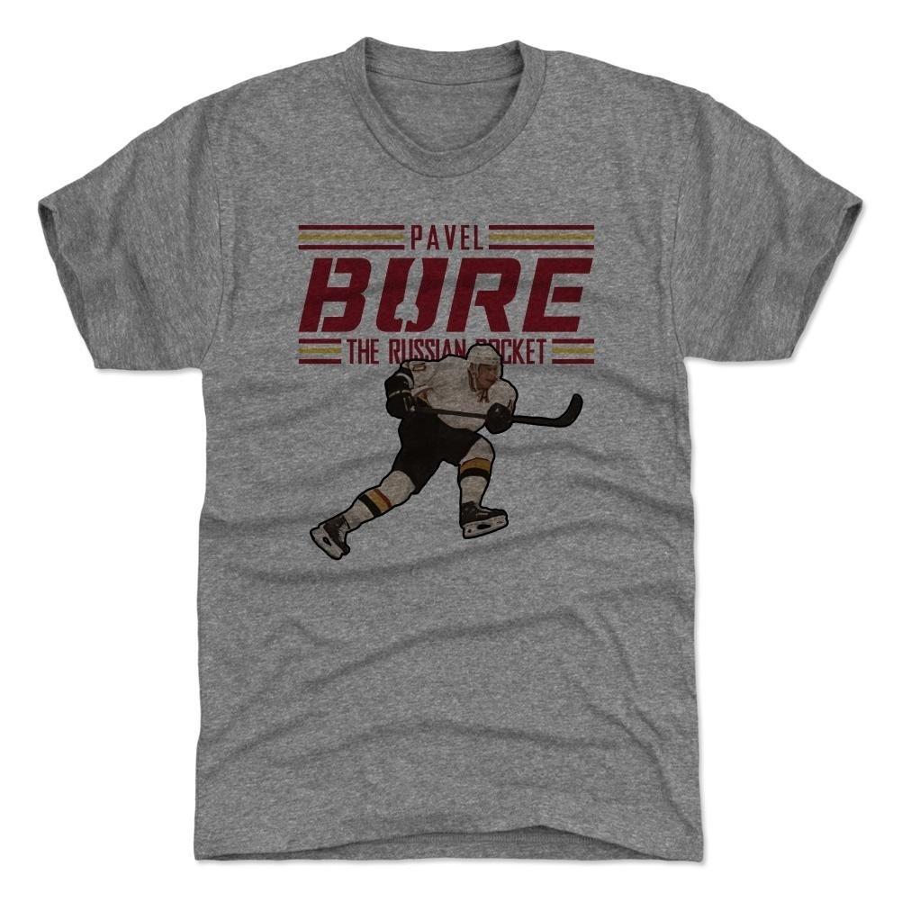 500 Level Pavel Bure Russian Rocket NHL T-Shirt Grau