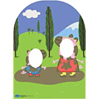 "Star Cutouts SC822 ""Peppa Pig y George muddy Puddle niño tamaño Soporte en cartón"" Cut Out"