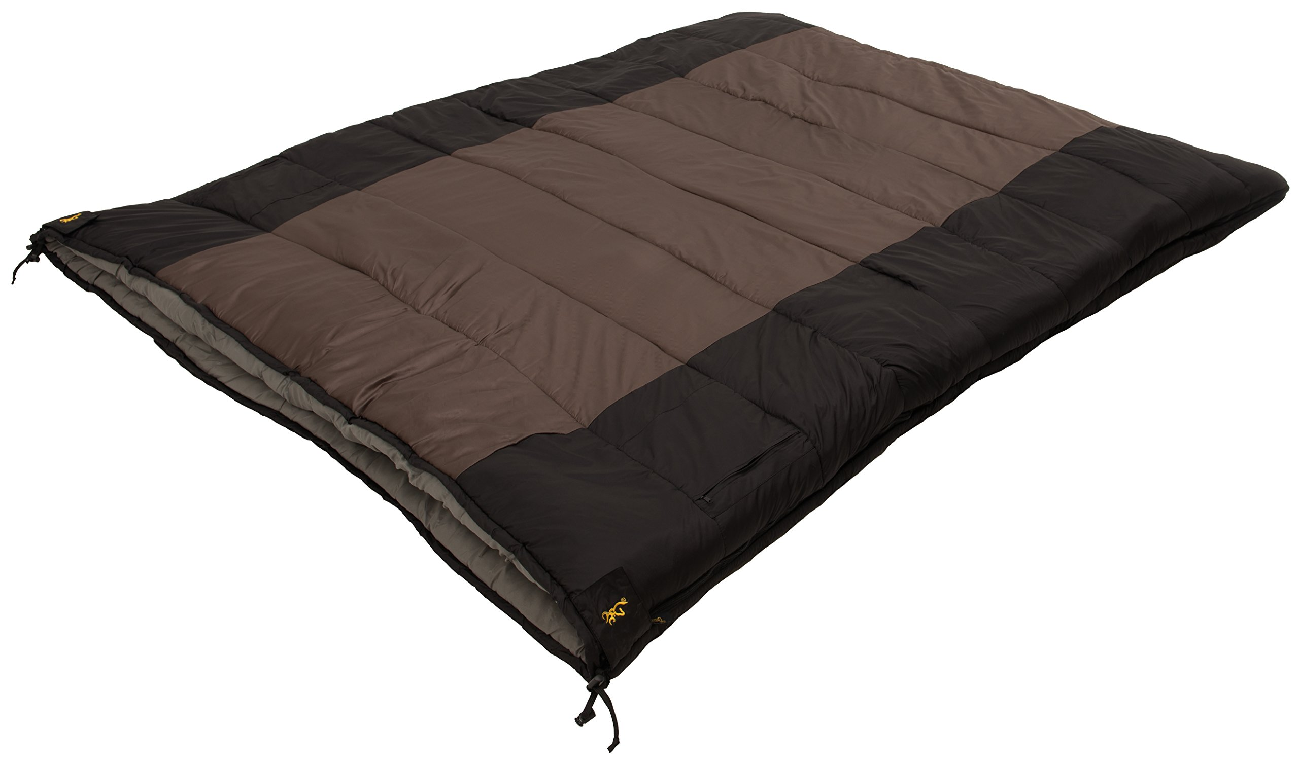 Browning Camping Side-by-Side 0 Degree Double Sleeping Bag by Browning Camping