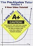 The Pre-Algebra Tutor: Volume 1