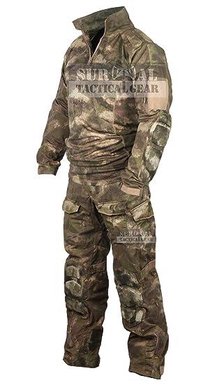 Uniforme Militar Táctico Paintball Airsoft caza ejército camuflaje ...