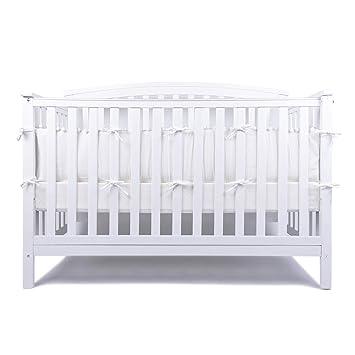 Amazon.com: LOAOL - Almohadillas para cuna de bebé con ...