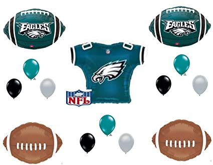 9746edeff43 Amazon.com: Philadelphia Eagles JERSEY Birthday Party Balloons Decoration  Supplies: Everything Else