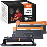 LemeroSuperx Compatible Toner Cartridge and Drum Unit Replacement for Brother TN450 TN420 DR420 Work for IntelliFax-2840…