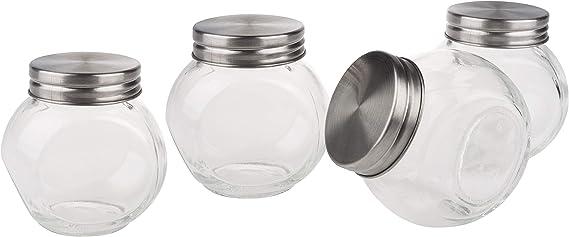 VBS Vorratsglas Vorratsdose BONBON mit Schraubdeckel 650 ml