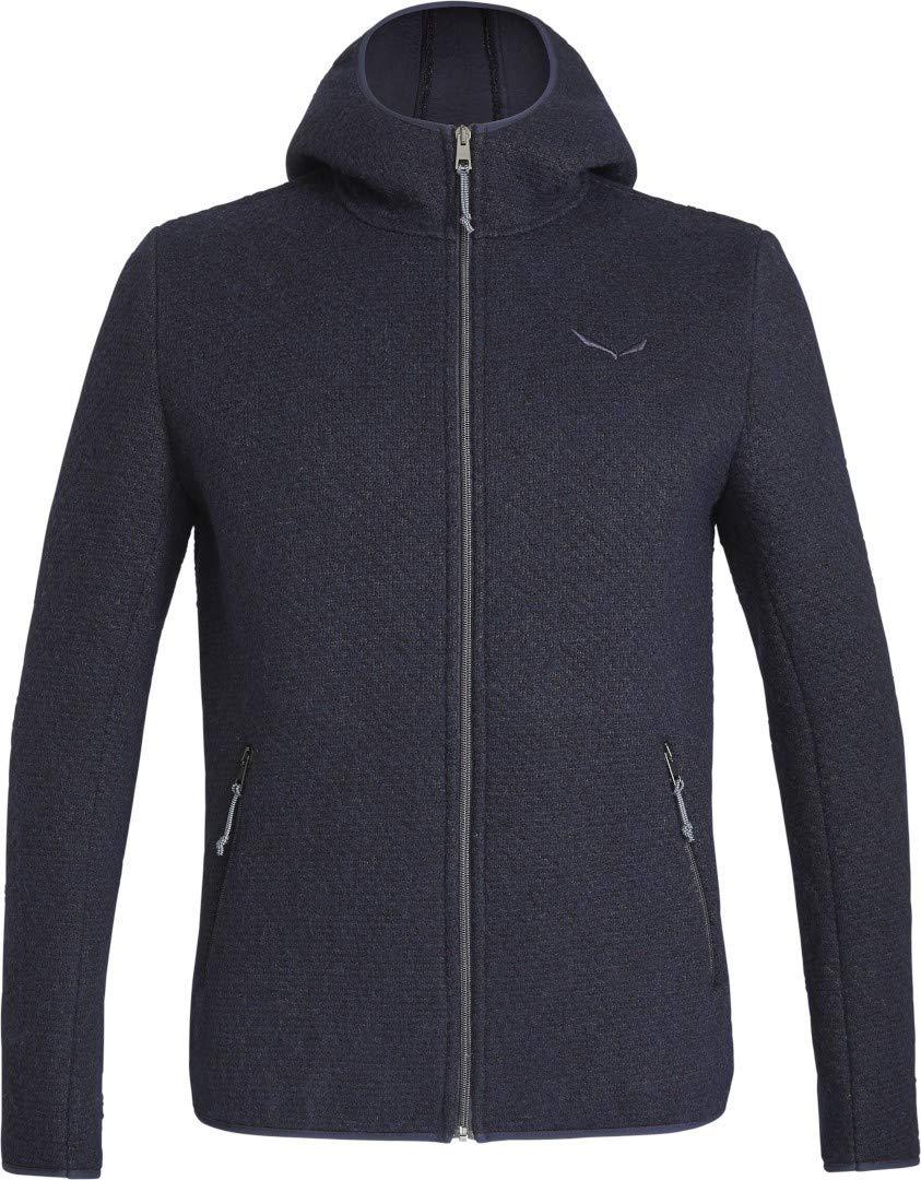Farbe-Salewa:premium navy Groesse-Salewa:50//L Salewa Woolen 2L Herren Hoody