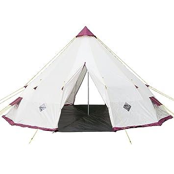Skandika Teepee 300 Wigwam Style Indiana Pyramid Desert Tent 300 cm Peak Height 3000  sc 1 st  Amazon UK & Skandika Teepee 300 Wigwam Style Indiana Pyramid Desert Tent 300 ...