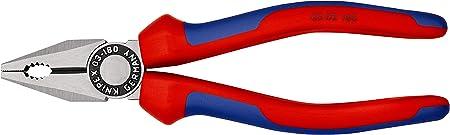 SdfkPlakette /_/_/_/_/_ /_ Kombizange Kombinations Zange ca 180mm rot 860.254 860254