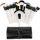 Hotrose® 32 Pcs Professional Makeup Brush Set with a Free PU Leather Bag